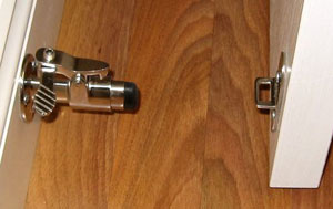 \ Smart Catch\  Stainless Spring-Loaded Door Latch - Straight. $82.52. This unique Door Latch ... & Smart Catch Stainless Spring-Loaded Door Latch - Straight [48-800 ...